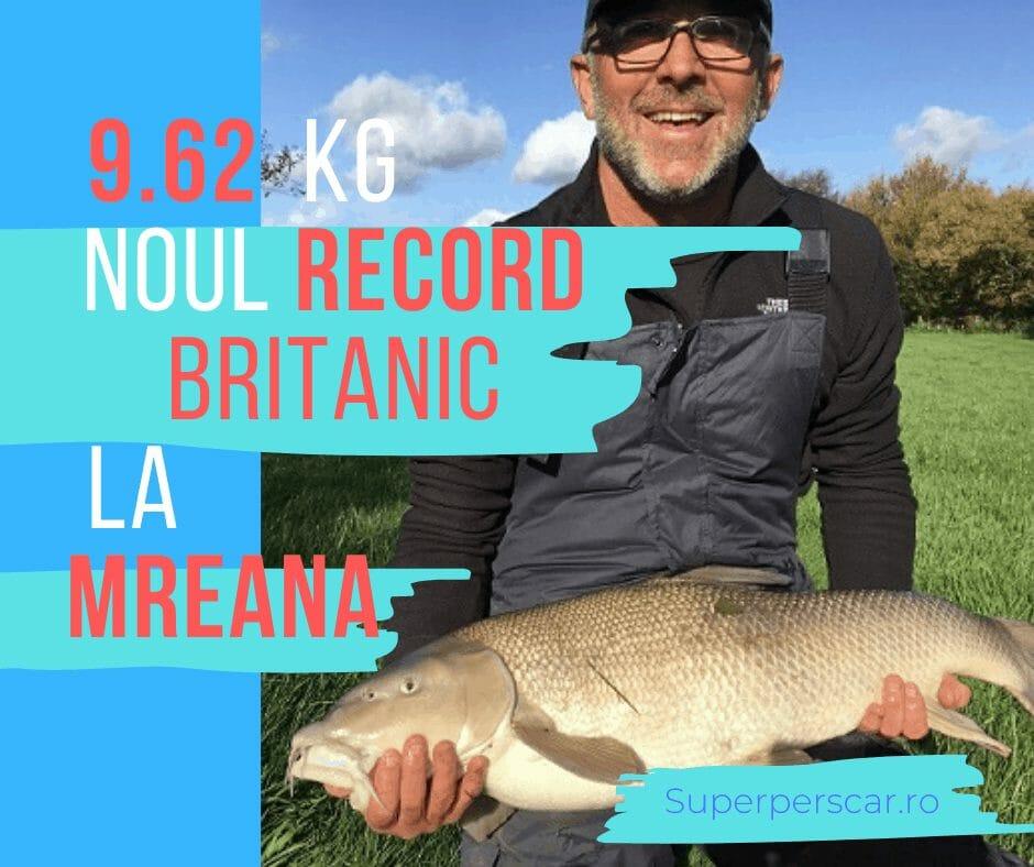După 13 ani , un nou record la mreană în UK! 1